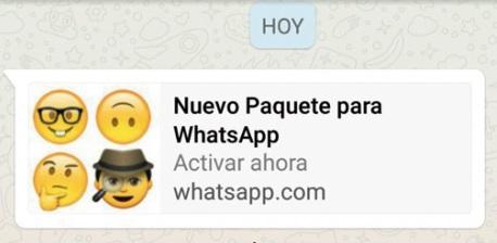 FRAUDE Nuevo paquete emojis Whatsapp.jpg
