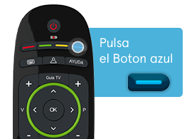 Mando guia TV Movistar+ Movisfera