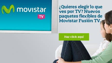 Modalidades flexibles movistar tv
