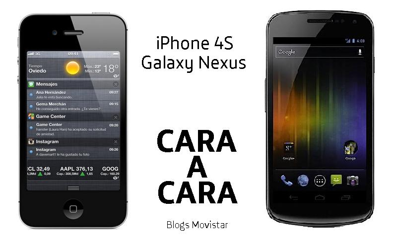 iPhone 4s y Galaxy Nexus.JPG