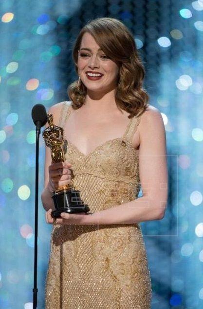 """Emma Stone ganó el Oscar a """"Mejor actriz"""""""