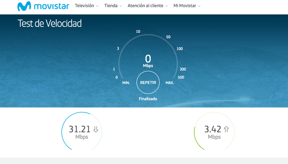 Velocidad router wifi 8am