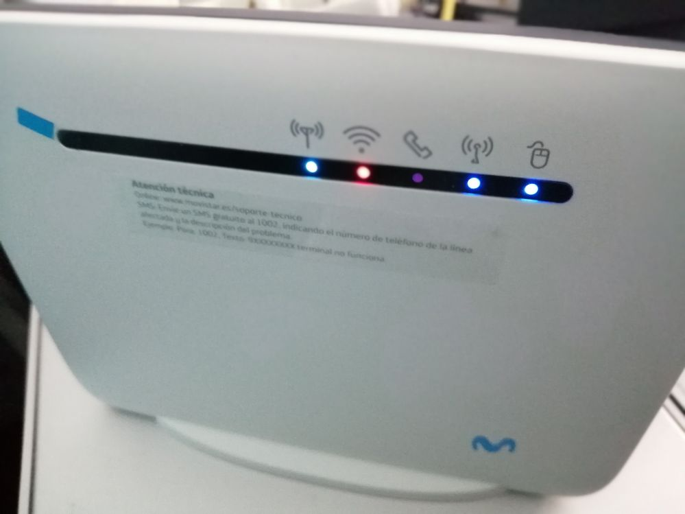 router en estado normal