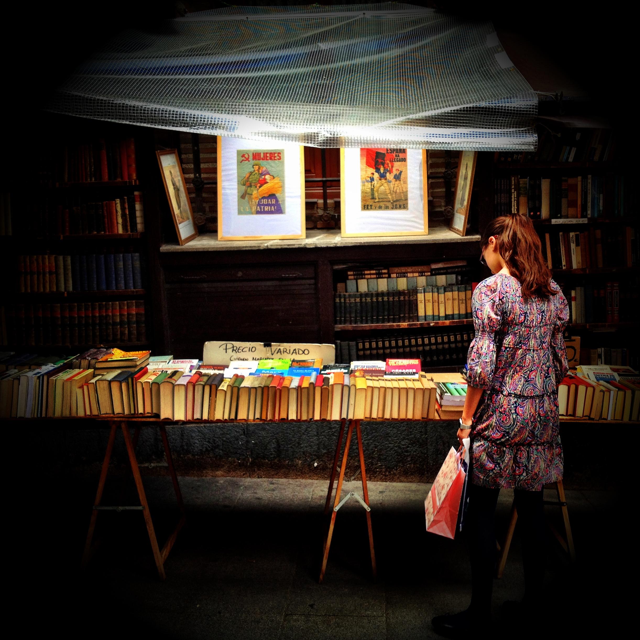 La buscadora de libros
