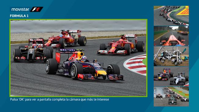Vive la F1 en Movistar TV