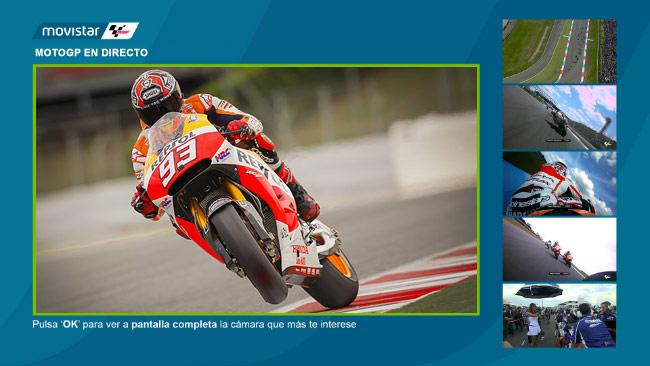 Disfruta de las carreras en Movistar MotoGP
