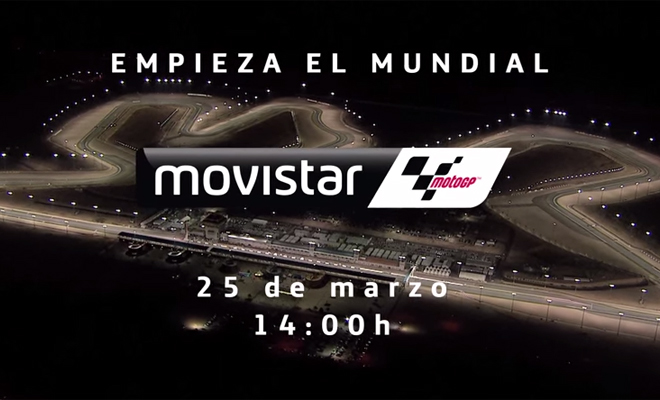 Sigue el Mundial de MotoGP en Movistar TV