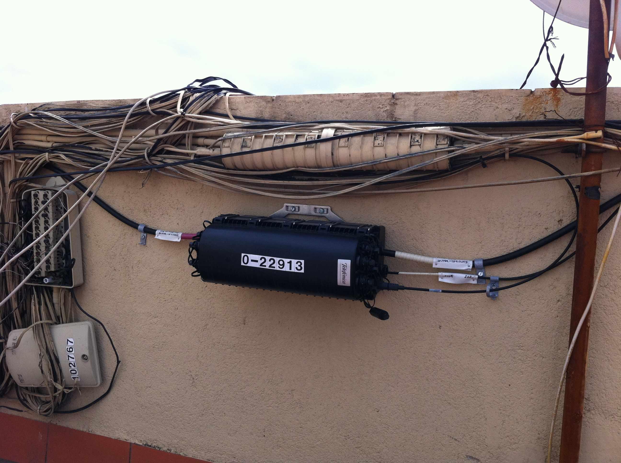 Solucionado disponibilidad de fibra ptica p gina 2 comunidad movistar - Fibra optica en casa ...